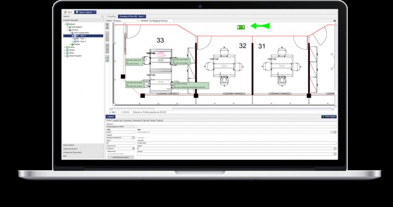 Ausrüstungsmanagement screenshot