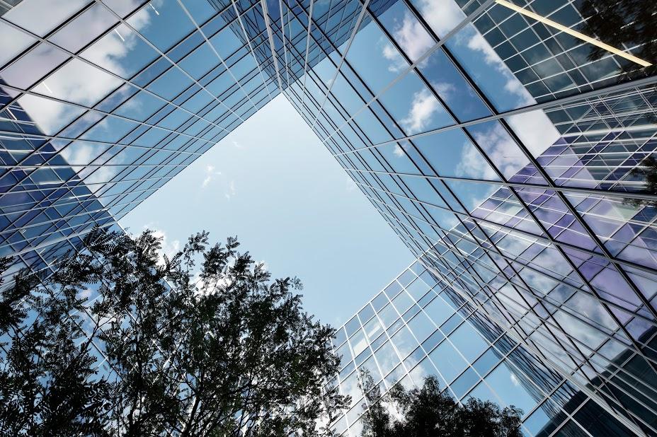 AXA building - courtyard