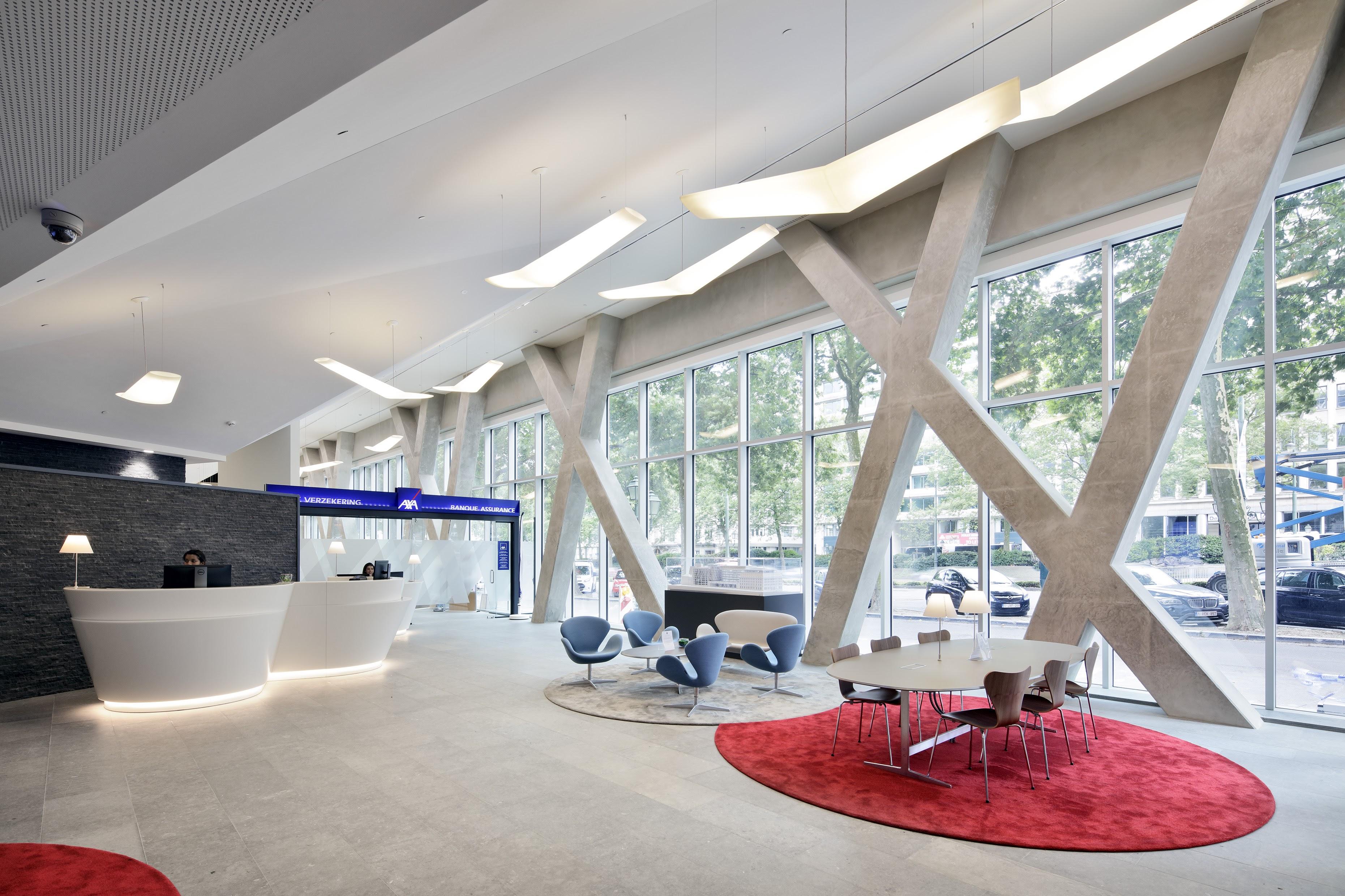Axa building - lobby