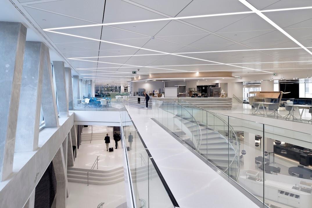 Axa building - interior