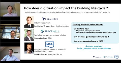 Digital Twin Technology webinar screenshot