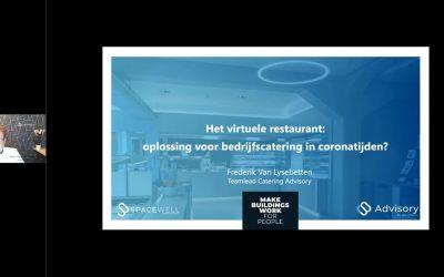 Advisory webinar – Het virtuele restaurant: oplossing voor bedrijfscatering in coronatijden?