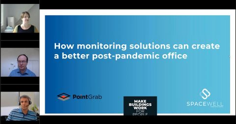 How monitoring solutions can create a better post-pandemic office - webinar screenshot