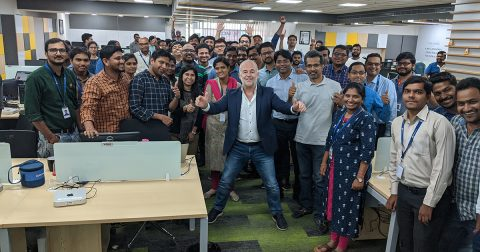Spacewell India with CEO