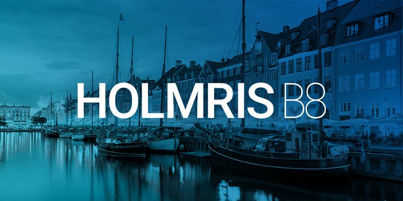 Holmris B8 logo
