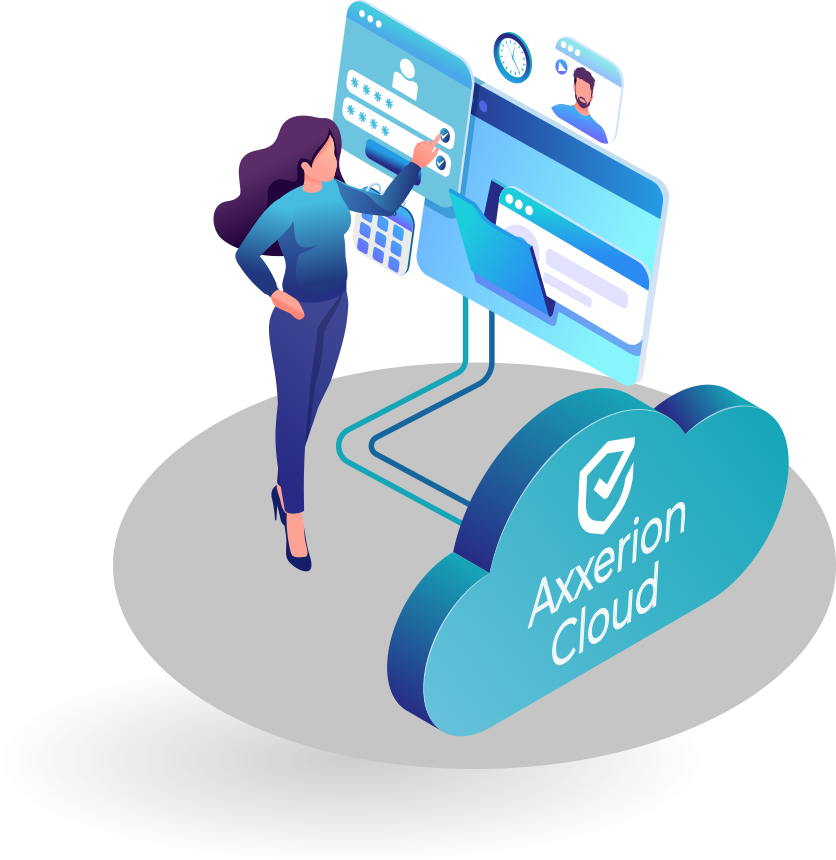 Axxerion Cloud graphic