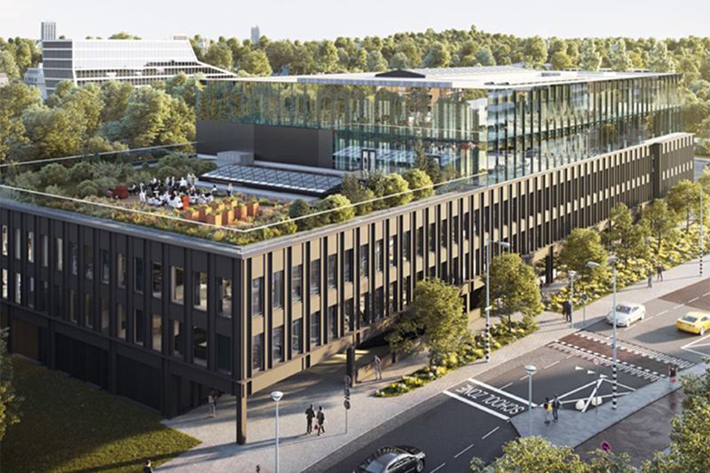 EVBox Gebäude