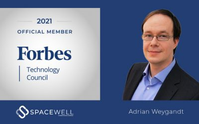 Spacewell treedt toe tot de Forbes Technology Council