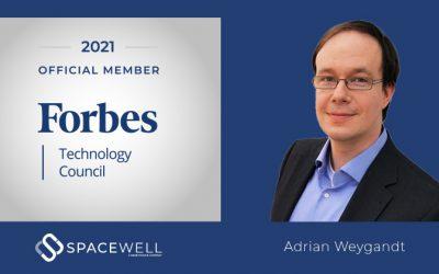 Spacewell wird in den Forbes Technology Council aufgenommen