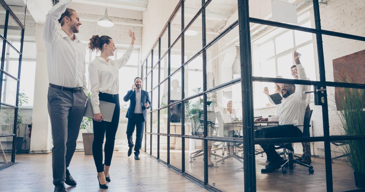 Optimalisatie van de kantoorruimte voor de nieuwe manieren van werken