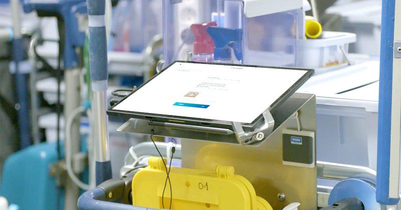 Schoonmaken op maat op tablet