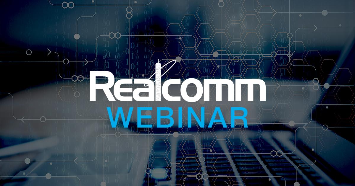 Realcomm Webinar
