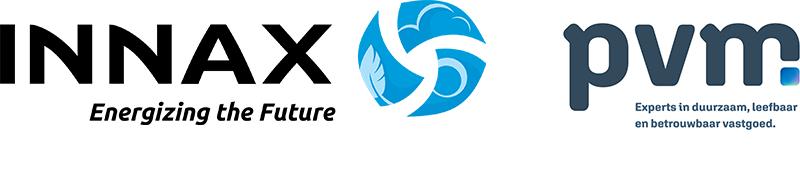INNAX en PVM logos