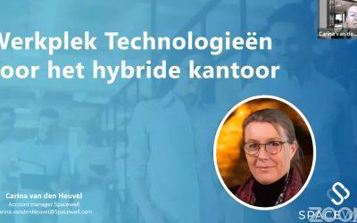Concrete meerwaarde van technologie en de hybride werkplek (webinaropname)