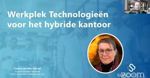 Werkplek technologiën voor het hybride kantoor