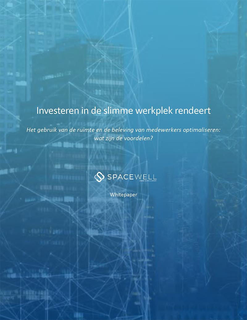 Whitepaper - Investeren in de slimme werkplek rendeert - cover