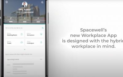 L'application Workplace de Spacewell