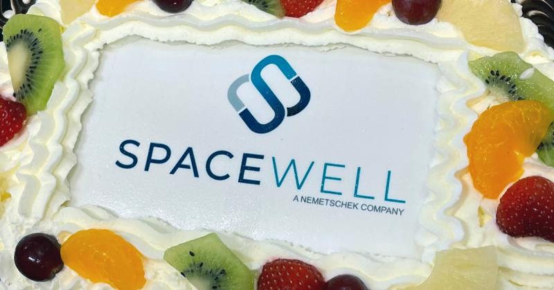 Spacewell taart