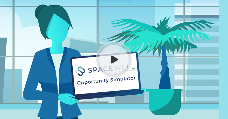 Spacewell Opportunity Simulator video preview