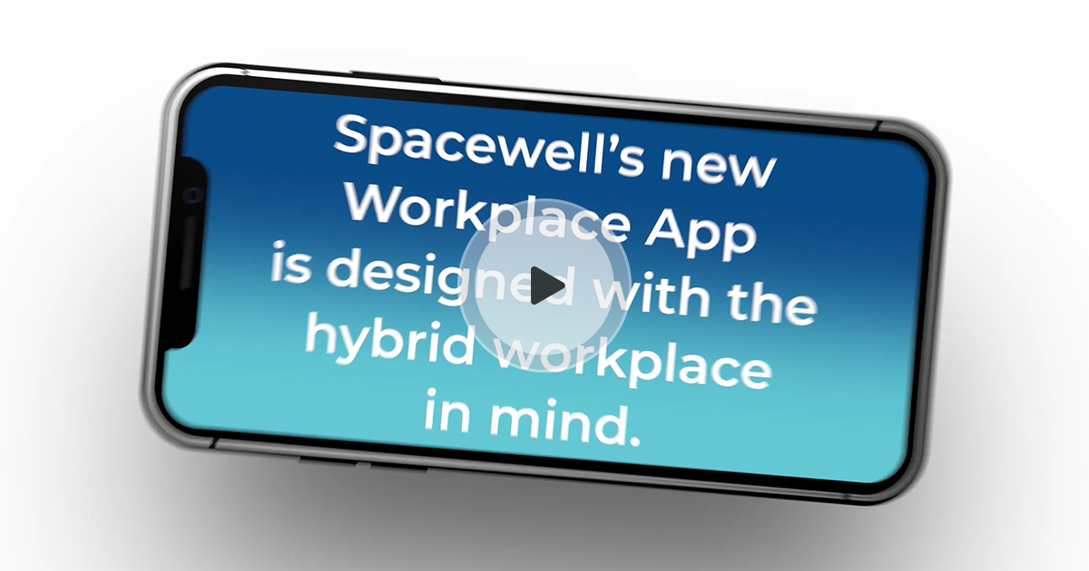 Spacewell Workplace App video preview